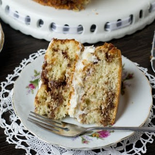 Cream Filled Coffee Cake