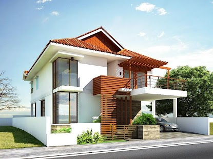 home exterior design ideas screenshot thumbnail - Home Exterior Designer