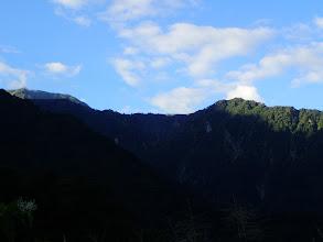 クズバ山と左端に奥大日岳