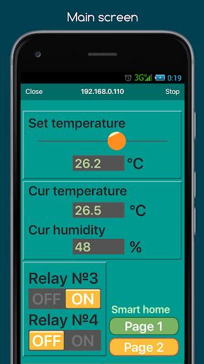 RemoteXY: Arduino control screenshot 4