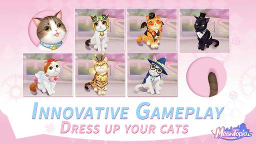 Meowtopia-Cat-themed decoration match 3 game screenshots 11