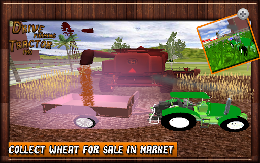 Drive Farming Tractor Pro game (apk) free download for Android/PC/Windows screenshot