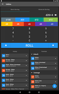 CritDice - Dice Roller- screenshot thumbnail
