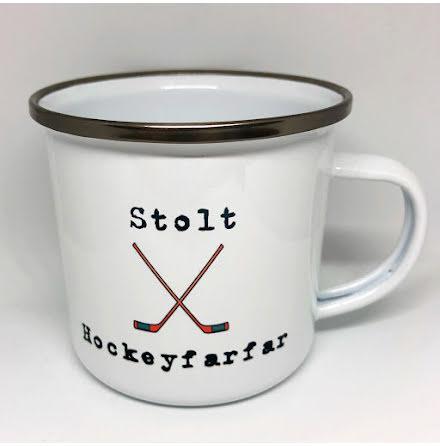 Mugg - Stolt Hockeyfarfar