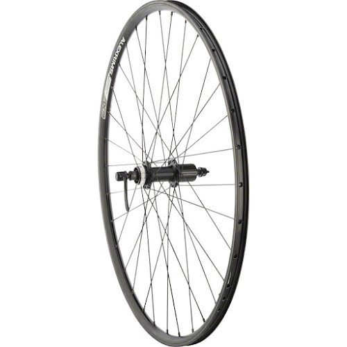 Quality Wheels Rear Wheel Rim,Disc Convenience 700c 32h Shimano TX505/ Alex DC19
