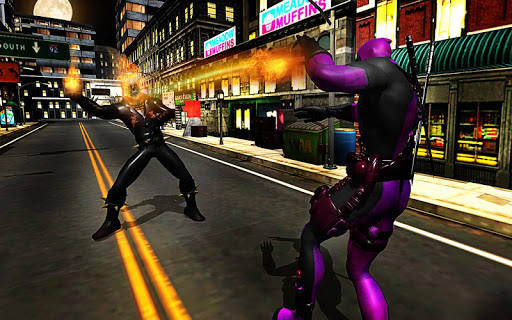 Ghost Hero vs Superheroes Fire Blaze Epic Battle game (apk) free download for Android/PC/Windows screenshot