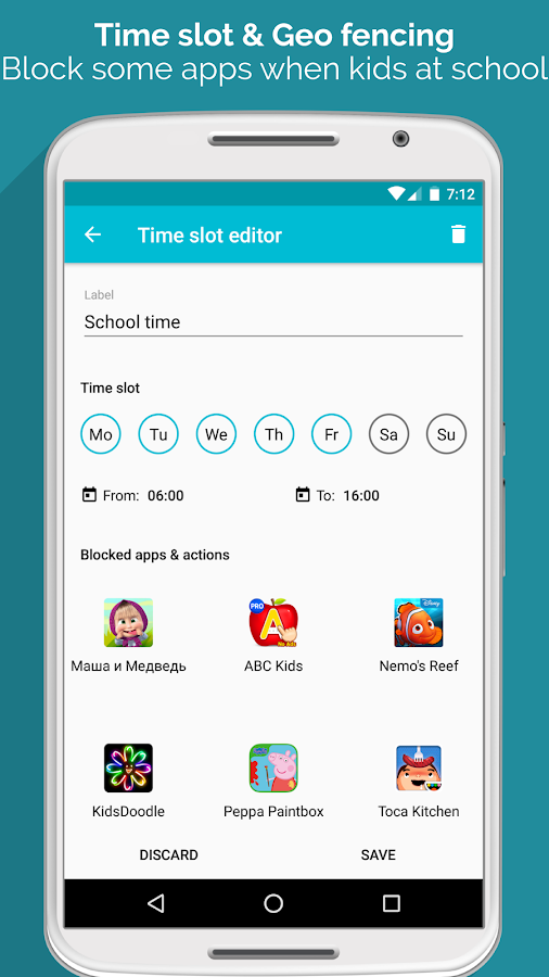 Luna Launcher - Kid Launcher- screenshot