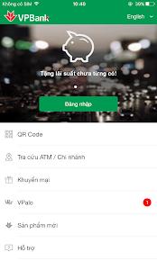 VPBank Online - náhled