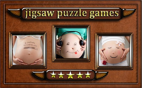 pregnant woman belly Jigsaw Puzzle game 4