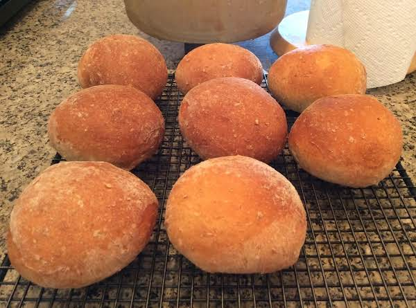 Half Recipe For Buns The Other Half For A Loaf Of Bread