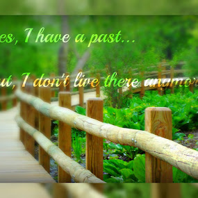 No More Past by Robert George - Typography Quotes & Sentences (  )