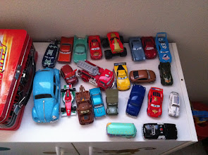 Photo: Some Toy Cars (Guess which is my favorite...)