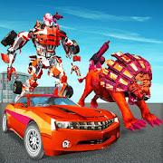 Ultimate Lion Robot Car Transform Simulator