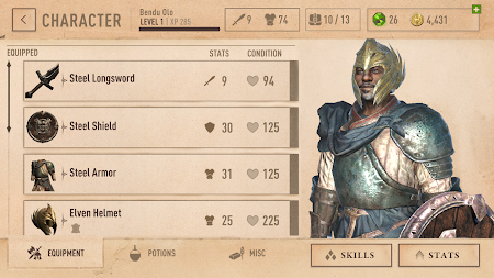 The Elder Scrolls: Blades APK screenshot thumbnail 7