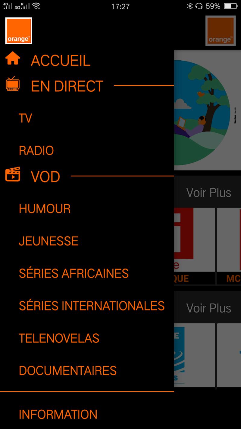 Скриншот TVOrange