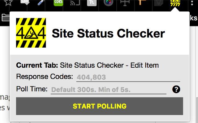 Site Status Checker