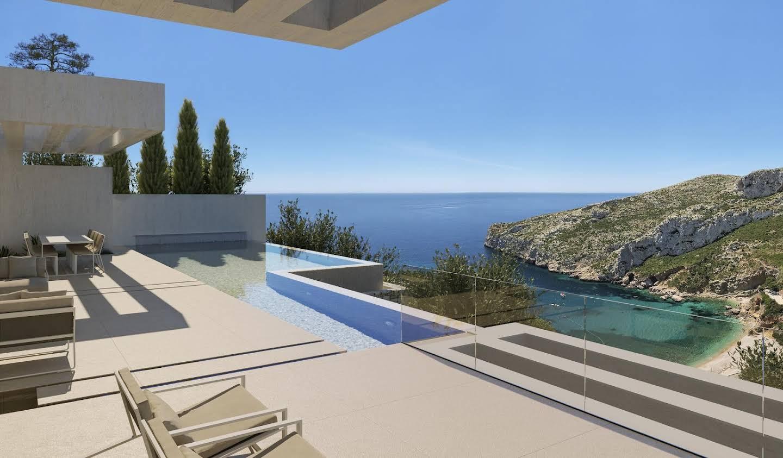 Villa avec piscine et terrasse Jávea