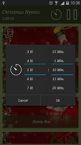 android Christmas Hymns Holiday Themes Screenshot 3