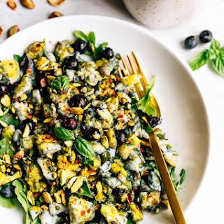Blueberry Eggs Breakfast Salad Recipe