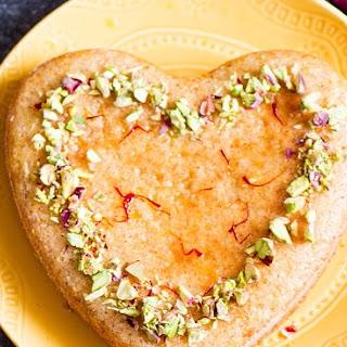 Persian Love Cake | Almond Semolina Cake.