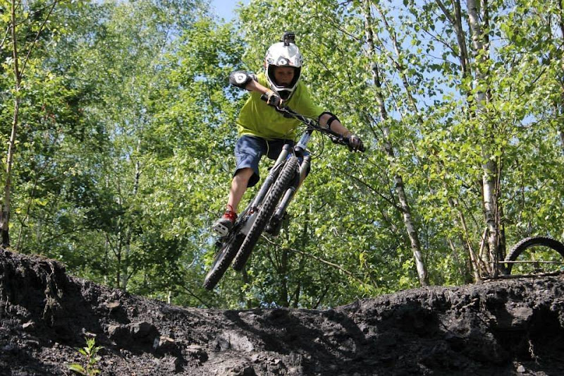 Matthijs is Zot van Enduro