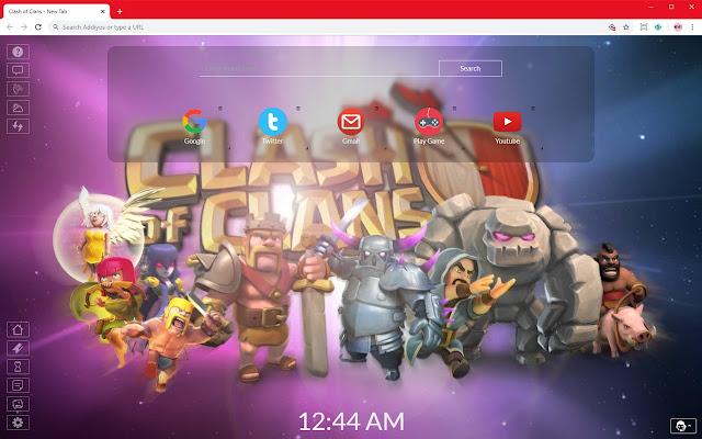 Clash of Clans 2020 Full HD New Tab