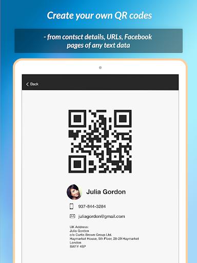 QR Scanner & Barcode reader 1.0.1 screenshots 8