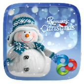 Romantic Christmas Go Launcher Theme