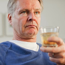Photo: Man with glass of whisky???????????????????