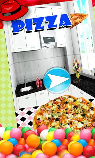 ピザパン - 子供たちが調理する