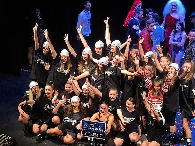 l grupo de hip hop 'Dance Queens' se hizo con la segunda posición.