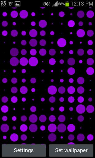 Dots - Live Wallpaper