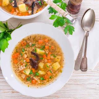 Vegetable Barley Soup Recipe (Light & Hearty)
