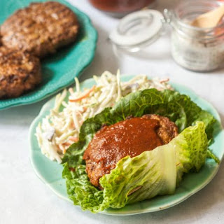 Barbecue Rib Burgers with Low Carb Sauce #SundaySupper.