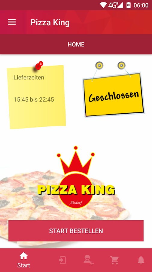 Pizza King Alsdorf- screenshot