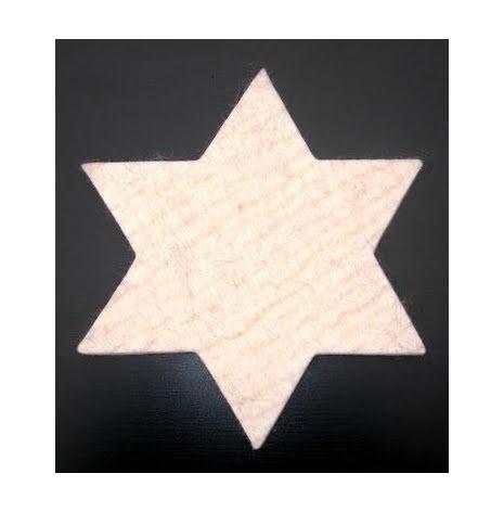 Grytunderlägg stjärna i ull