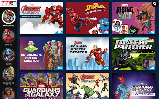 Download Marvel HQ u2013 Games, Trivia, and Quizzes MOD APK 7
