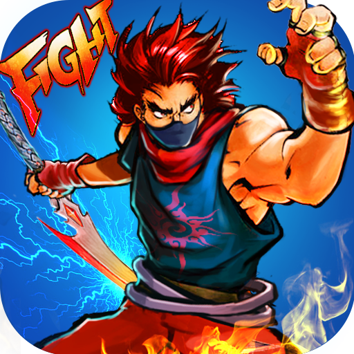Ninja Fighting - Kung Fu Fight 街機 App LOGO-硬是要APP