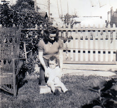 Photo: Fr. Jim with his Godmother Dorothy Comerford 1939