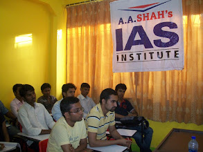 Photo: UPSC Toppers Seminar 2012 by A A SHAH's IAS Institute, NERUL