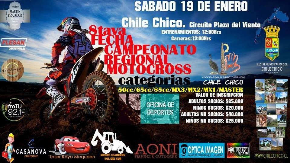 El 19 de enero, Regional de MX en Chile Chico