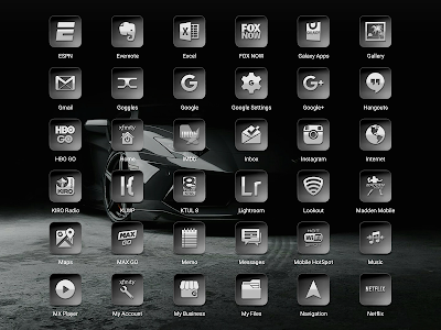 Bacca Gray - Icon Pack screenshot 15