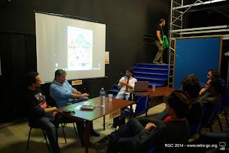 Photo: Coin conférence dirigée par Chezmoi en présence de Jm Destroy et Eric Safar
