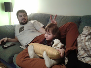 Photo: bekuckózott Apához :)