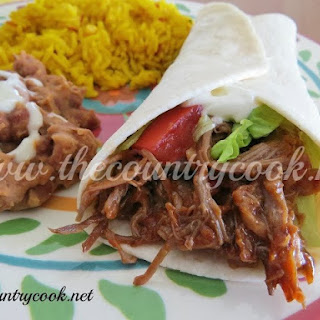 Crock Pot Mexican Shredded Beef.