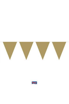 Flaggirlang, guld 6m
