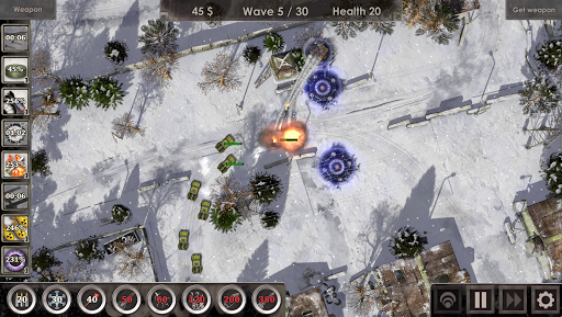 Defense Zone 3 HD  άμαξα προς μίσθωση screenshots 1