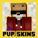 "New ""PvP"" skins pack for MCPE New Year edition. Icon"