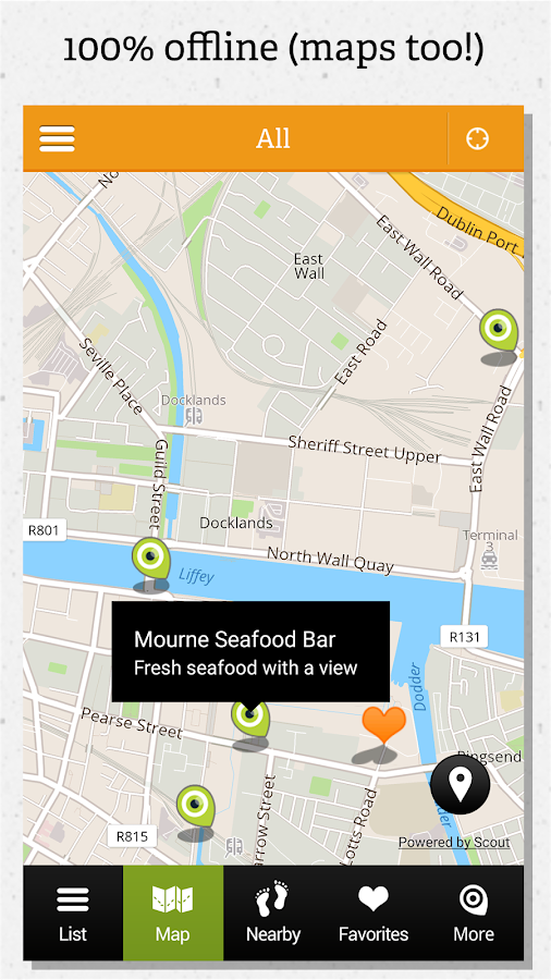 Dublin guide by locals- screenshot