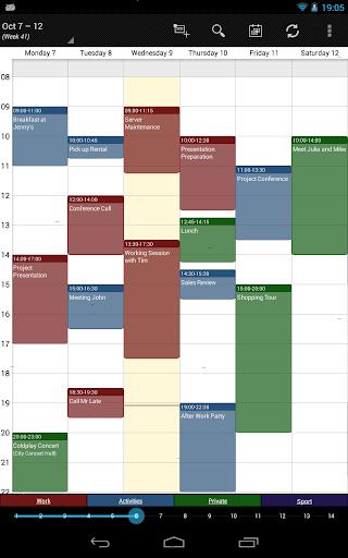 Business Calendar Beta screenshot 16